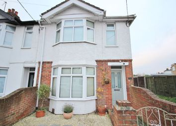 Thumbnail 3 bed terraced house for sale in Downs Park Road, Totton, Southampton