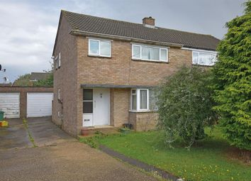Thumbnail 3 bedroom semi-detached house for sale in Glastonbury Close, Bletchley, Milton Keynes