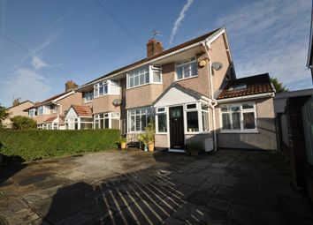 Thumbnail 3 bed semi-detached house for sale in Downham Drive, Heswall, Wirral