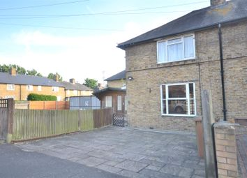 Thumbnail 2 bed semi-detached house to rent in Keynsham Road, Morden