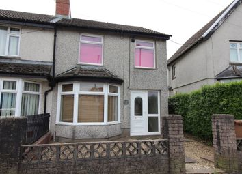 Thumbnail 3 bed semi-detached house to rent in Craiglas Crescent, Cefn Fforest, Blackwood