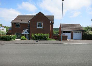 Thumbnail 4 bedroom detached house for sale in Homefarm Way, Parc Penllergaer, Swansea.