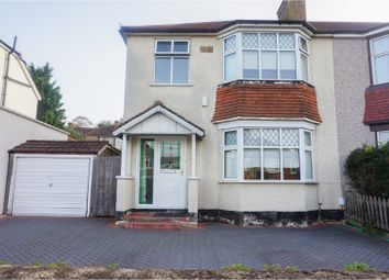 Thumbnail 3 bed semi-detached house for sale in Warren Avenue, Bromley