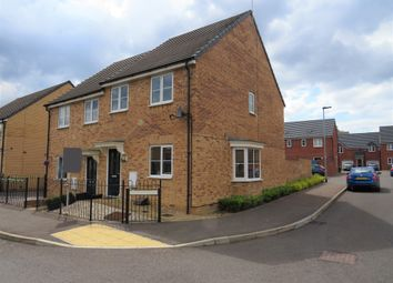 Thumbnail 3 bed semi-detached house for sale in Everest Way, Hempsted, Peterborough