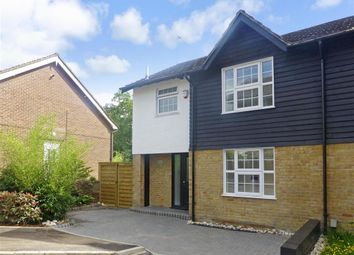 Thumbnail 3 bed semi-detached house for sale in Grange Close, Woodford Green, Essex