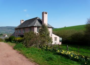 Thumbnail 5 bedroom detached house to rent in Bickham, Timberscombe, Minehead