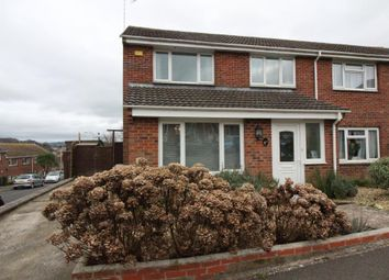 Thumbnail 3 bed semi-detached house for sale in Vearse Close, Bridport, Dorset
