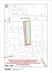 Thumbnail Commercial property for sale in Land Adjacent To 44, Moss House Road, Blackpool