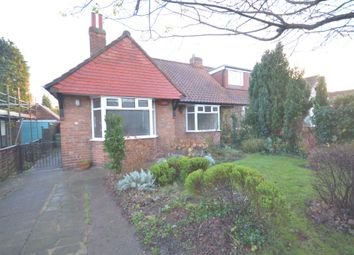 Thumbnail 2 bedroom semi-detached bungalow to rent in Grants Avenue, York