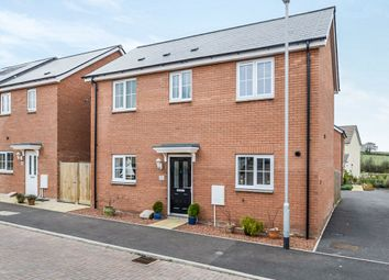 Thumbnail 3 bedroom detached house for sale in Quartly Drive, Bishops Hull, Taunton