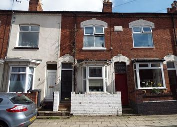 Thumbnail 2 bedroom terraced house for sale in Park Avenue, Aylestone, Leicester, Leicestershire
