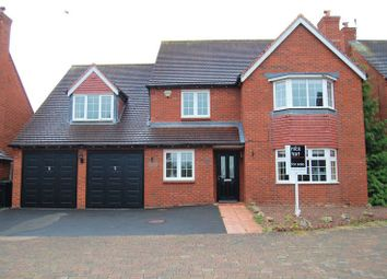 Thumbnail 5 bed detached house for sale in Long Croft, Albrighton, Wolverhampton