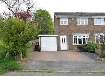 Thumbnail 3 bed semi-detached house for sale in Hawthorne Close, Wakefield
