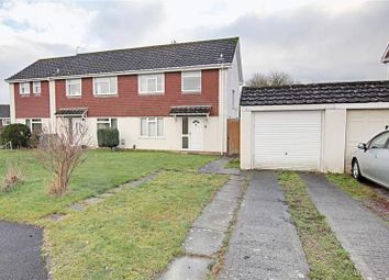 Thumbnail 3 bed semi-detached house to rent in Christin Court, Trowbridge