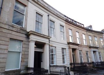 Thumbnail 1 bed flat to rent in Queens Crescent, Glasgow