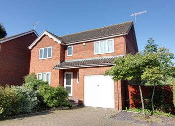 Thumbnail 4 bed detached house for sale in Sleaford Close, Ipswich