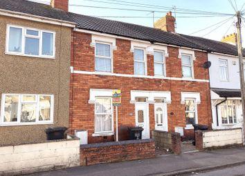 Thumbnail 2 bedroom terraced house for sale in Montagu Street, Rodbourne, Swindon