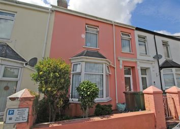 Thumbnail 3 bed terraced house for sale in Meavy Avenue, Crownhill, Plymouth