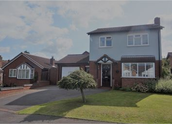 Thumbnail 3 bed detached house for sale in Burnthurst Crescent, Solihull