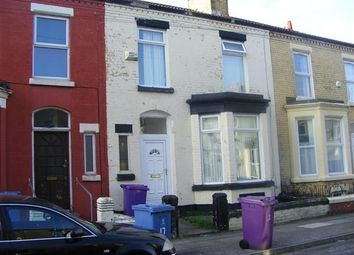 Thumbnail 5 bedroom terraced house to rent in Claremont Road, Wavertree, Liverpool