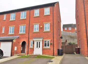 Thumbnail 4 bed town house for sale in Northcote Way, Doe Lea, Chesterfield