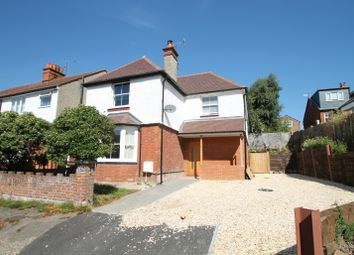Thumbnail 4 bed semi-detached house to rent in Carey Road, Wokingham, Berkshire
