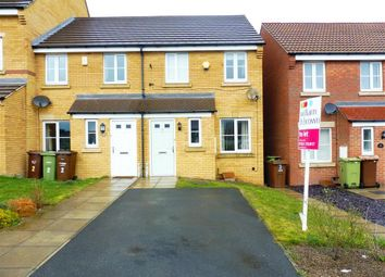 Thumbnail 2 bed property to rent in Rosehip Walk, Castleford