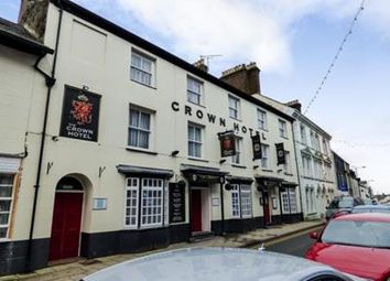 Thumbnail Pub/bar for sale in Crown Hotel, 37-39 High Street, Pwllheli, Gwynedd