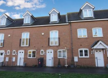 Thumbnail 3 bed town house for sale in Vale Drive, Hampton Vale, Peterborough, Cambridgeshire.
