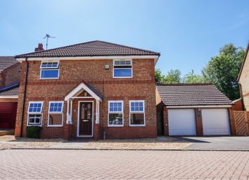 Thumbnail 4 bed detached house for sale in Edenfield, Peterborough