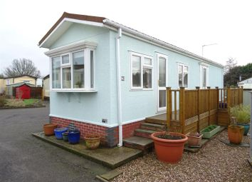 Thumbnail 2 bedroom mobile/park home for sale in St. Christophers Road, Ellistown, Leicestershire