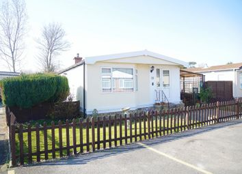 Thumbnail 2 bed mobile/park home for sale in Morello Drive, Orchards Residential Park, Slough