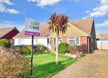 Thumbnail 2 bed semi-detached bungalow for sale in Oakcroft Gardens, Littlehampton, West Sussex