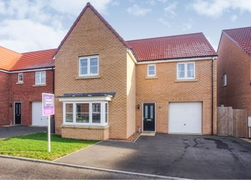 Thumbnail 4 bedroom detached house for sale in Roman Road, Welton, Lincoln