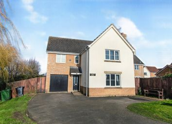 Thumbnail 4 bed detached house for sale in Leete Way, West Winch, King's Lynn