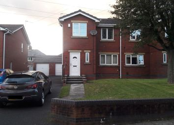 Thumbnail 3 bed semi-detached house to rent in Ullswater Avenue, Moss Bank, St. Helens