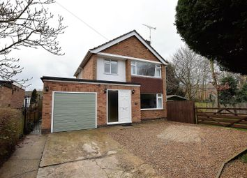 Thumbnail 3 bed detached house for sale in Derwent Drive, Oakham