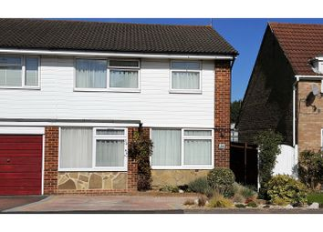Thumbnail 4 bed semi-detached house for sale in Bramber Way, Burgess Hill