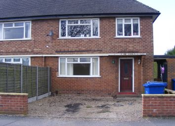 Thumbnail 1 bed flat to rent in Fazeley Road, Tamworth