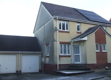 Thumbnail 3 bed semi-detached house to rent in Silverwood Heights, Barnstaple