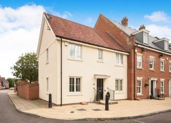 Thumbnail 3 bed end terrace house for sale in Britten Crescent, Witham