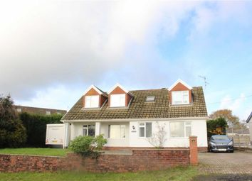 Thumbnail 5 bed detached bungalow for sale in Chapel Road, Three Crosses, Swansea