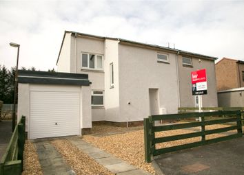 Thumbnail 3 bed semi-detached house for sale in Munro Way, Livingston