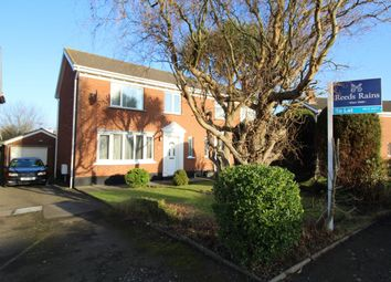 Thumbnail 3 bed semi-detached house to rent in Ashbury Road, Bangor