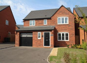 Thumbnail 4 bed detached house for sale in Damson Close, Rothley, Leicester
