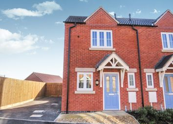 Thumbnail 2 bedroom semi-detached house for sale in Jacobite Close, Smalley, Ilkeston