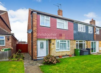 Thumbnail 3 bed end terrace house for sale in Downfield Road, Cheshunt, Hertfordshire