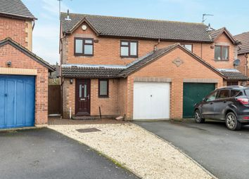 Thumbnail 3 bed semi-detached house for sale in Flying Fields Road, Southam