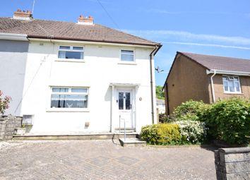 Thumbnail 3 bedroom semi-detached house for sale in Manor Road, Pontllanfraith, Blackwood