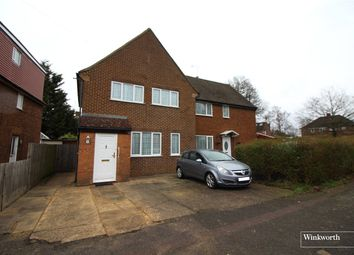 Thumbnail 3 bed semi-detached house for sale in Caishowe Road, Borehamwood